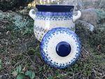 Pot à ail, 900 ml, 15 cm haut, Fleur Delicate, BSN J-1832 Image 2