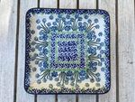 Plate, 21 x 21 cm, Forget me not - BSN J-3081