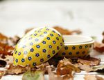 Tin as egg, 13 x 10 x 10 cm, Tradition 20, BSN J-3364 Picture 2