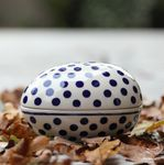 Tin as egg, 13 x 10 x 10 cm, Tradition 24, BSN J-3366 Picture 1
