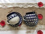 Togetherness, set of 2 Plate for mugs, BSN J-4633 Picture 4