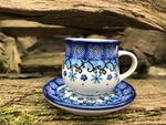 Espresso cup and saucer, 70 - 80 ml, Ivy, BSN J-093