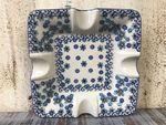 Portacenere, 17,5 x 17,5 cm, 3,5 cm alto, Winter Garden - BSN J-4843