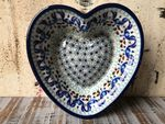 Heart baking tin, 15x14 cm, ↑4 cm, Marrakesch, BSN A-0540 Picture 1