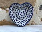 Heart baking tin, 15x14 cm, ↑4 cm, Crazy Dots, BSN A-0278 Picture 3