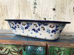 Ovnfast fad, 25 x 18 x 6 cm, Polsk Keramik, Lady - BSN A-0453 Billede 3