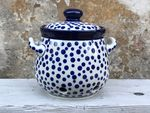 Knoflook pot 900 ml - hootge 15 cm Ø15 cm- Crazy Dots, BSN A-0323