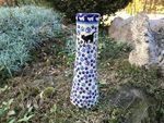 Vase, ca. 25 cm, Katze, BSN A-0067 Bild 2
