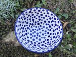 Bowl on foot, Ø14,5 cm, ↑8,5 cm, Crazy Dots, BSN A-0329 Picture 3