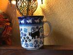 Mug without saucer, volume: 300 ml, 9,5 cm high, cat, BSN A-0077