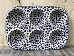 Baking tin,  29x20x4 cm, 6 troughs, Crazy Dots, BSN A-0343 Picture 6