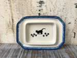 Small butterdish, 15x11x8 cm, cat, BSN A-0086 Picture 3