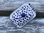 Small butterdish, 15x11x8 cm, Crazy Dots, BSN A-0346 Picture 4