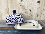 Small butterdish, 15x11x8 cm, Crazy Dots, BSN A-0346 Picture 9