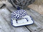 Small butterdish, 15x11x8 cm, Crazy Dots, BSN A-0346 Picture 7