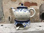 Teekanne mit Stövchen, 1200 ml, Lady,  BSN A-0487