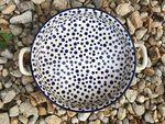 Bowl met handgrepen Ø27 cm x 5,5 cm - Crazy Dots, BSN A-0360