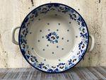 Bowl / dish with handle, Ø 20 cm, ↑5 cm, Lady, BSN A-0493