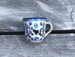 Espresso cup / children mug, cat, BSN A-0104