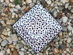 Vaisselle / plaque de 20x20 cm, Crazy Dots, BSN A-0366