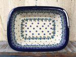 Ovenproof dish, 25 x 18 x 6 cm, Royal Blue, BSN A-0688