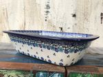 Ovenproof dish, 25 x 18 x 6 cm, Royal Blue, BSN A-0688 Picture 2