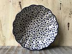 Bowl with rippled side, Ø 24 cm, high 6 cm, Crazy Dots, BSN A-1203 Picture 2