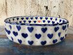 Bowl / oven dish, Ø19,5 cm, ↑4,5 cm, White Valentine, BSN R-138 Picture 2