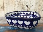 Bowl, 12,5 x 12,5 cm, 5 cm high, I love you too, BSN A-1613
