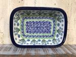 Ovenproof dish, 25 x 18 x 5 cm, Forget me not, BSN A-1439