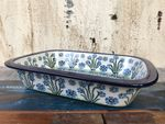 Ovenproof dish, 25 x 18 x 5 cm, Forget me not, BSN A-1439 Picture 2