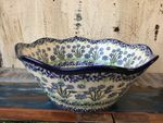 Bowl, Ø26 cm, ↑11 cm, Forget me not, BSN A-1437 Picture 2