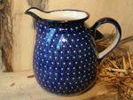 Jug, volume 1500 ml, 16 cm high, unique 22 - polish pottery - BSN 5045