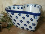Heart baking tin, 15,5 x 15 cm, 8 cm high, Tradition 3 - polish pottery - BSN 7360 Picture 2