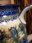 Jug, volume 2000 ml, 18 cm high, unique 7 - polish pottery - BSN 1790 Picture 3