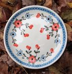 Dessert plate, Ø 20 cm, Tradition 53 - polish pottery - BSN 60534 Picture 1