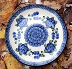 Dessert plate, Ø 20 cm, Tradition 9 - polish pottery - BSN 1521