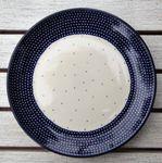 Plaat (Ontbijt cake diner) Ø20 cm - unikat 18-Pools Aardewerk- BSN 2509 Afbeelding 2