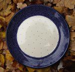 Plaque de petit déjeuner, Ø 20 cm, pièce unique 18 - polonaise poterie - BSN 2509