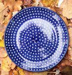 Plaque de petit déjeuner, Ø 20 cm, pièce unique 22 - polonaise poterie - BSN 10812
