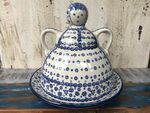 Cheese lady, 23 x 23 cm, Tradition 12 - polish pottery - BSN 5127