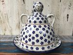 Cheese lady, 23 x 23 cm, Tradition 3 - polish pottery - BSN 5131