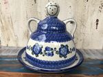 Cheese lady, 23 x 23 cm, Tradition 9 - polish pottery - BSN 5129 Picture 2