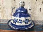 Formaggio signora, 23 x 23 cm, tradizione 9, polacco ceramica - BSN 5129 Immagine 2