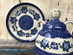 Cheese lady, 23 x 23 cm, Tradition 9 - polish pottery - BSN 5129 Picture 3