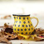 Milk jug, volume 150 ml, Tradition 20 - polish pottery - BSN 7674