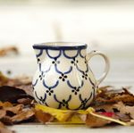 Milk jug, volume 150 ml, Tradition 25 - polish pottery - BSN 7670