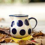 Milk jug, volume 150 ml, Tradition 28 - polish pottery - BSN 7667