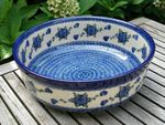 Bowl -Ø 32 cm - high 11 cm - polish pottery - Tradition 9- BSN 21469 Picture 3