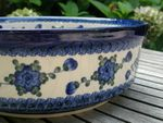 Bowl -Ø 32 cm - high 11 cm - polish pottery - Tradition 9- BSN 21469 Picture 2